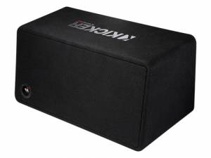 "Car Audio - Loaded Enclosures - Kicker - kicker Dual 12"" CompR Enclosure"