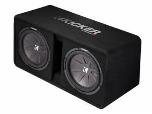 """Kicker - kicker Dual 12"""" CompR Enclosure - Image 3"""