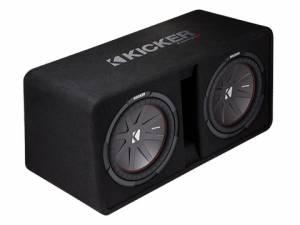 """Kicker - kicker Dual 12"""" CompR Enclosure - Image 4"""