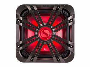 "Kicker - kicker 12"" Square Charcoal LED Grille - Image 2"