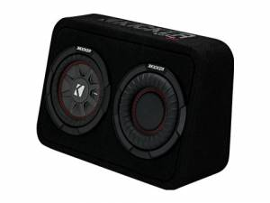 "Car Audio - Loaded Enclosures - Kicker - kicker 6.75"" CompRT 4 Ohm Enclosure"