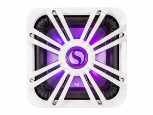 "Kicker - kicker 12"" Square White LED Grille - Image 2"