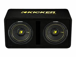 """Kicker - kicker Dual 10"""" CompC Enclosure - Image 2"""