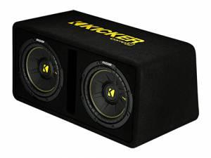 """Kicker - kicker Dual 10"""" CompC Enclosure - Image 4"""