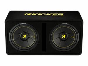 """Kicker - kicker Dual 12"""" CompC Enclosure - Image 2"""