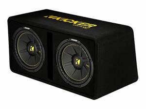 """Kicker - kicker Dual 12"""" CompC Enclosure - Image 4"""