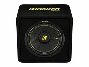"Car Audio - Loaded Enclosures - Kicker - kicker 12"" CompC Enclosure"