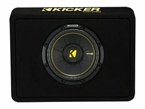 "Car Audio - Loaded Enclosures - Kicker - kicker 10"" CompC Enclosure"