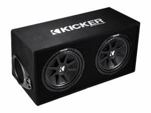 """Kicker - kicker Dual 12"""" Comp Enclosure - Image 3"""