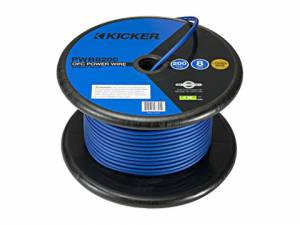 Car Audio - Accessories - Kicker - kicker 200ft 8AWG Power Cable