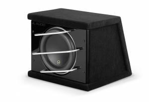 Car Audio - Enclosed Subwoofers - JL Audio - JL Audio CLS110RG-W7AE Single 10W7AE ProWedge, Sealed, 3 ohm