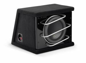 Car Audio - Enclosed Subwoofers - JL Audio - JL Audio CLS112RG-W7AE Single 12W7AE ProWedge, Sealed, 3 ohm