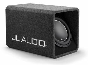 Car Audio - Enclosed Subwoofers - JL Audio - JL Audio HO112-W6v3 Single 12W6v3 H.O. Wedge, Ported, 2 ohm