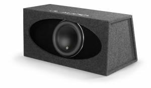 Car Audio - Enclosed Subwoofers - JL Audio - JL Audio HO112R-W7AE Single 12W7AE H.O. Wedge, Ported, 3 ohm