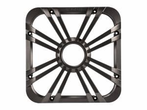 "Kicker - kicker 10"" Square Charcoal LED Grille - Image 1"