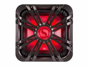 "Kicker - kicker 12"" Square Charcoal LED Grille - Image 2"