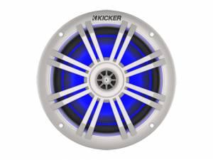 "Kicker - kicker KM 6.5"" 4? Blue LED Coaxial - Image 2"