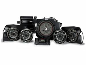 Powersports - Audio Kits - Kicker - kicker 5 Speaker Polaris® RZR® System (PHASE 5)