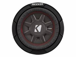 "Products - Subwoofer - Kicker - kicker 6 3/4"" CompRT 1 Ohm"