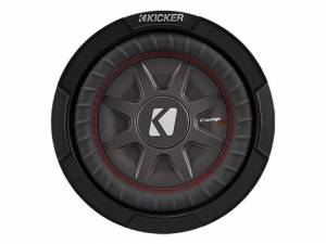 "Products - Subwoofer - Kicker - kicker 8"" CompRT 1 Ohm"