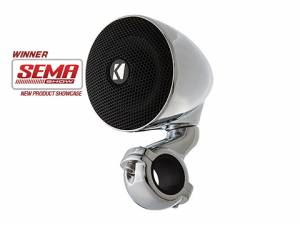 "Motorcycles - Mini Speakers - Kicker - kicker PSM 3"" 4 Ohm Enclosed Speaker Pair"