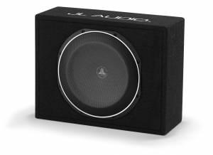 Car Audio - Enclosed Subwoofers - JL Audio - JL Audio CS112LG-TW1-2 Single 12TW1 PowerWedge, Sealed, 2 ohm