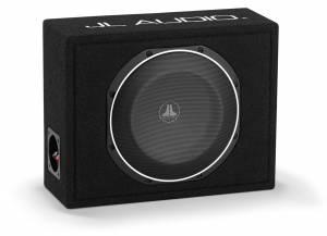 Car Audio - Enclosed Subwoofers - JL Audio - JL Audio CS110LG-TW1-2 Single 10TW1 PowerWedge, Sealed, 2 ohm