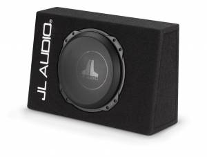 Car Audio - Enclosed Subwoofers - JL Audio - JL Audio CS110TG-TW3 Single 10TW3 Truck PowerWedge, Sealed, 2 ohm