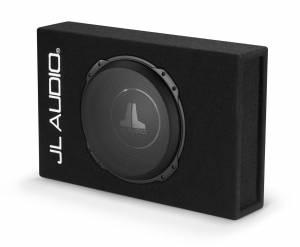 Car Audio - Enclosed Subwoofers - JL Audio - JL Audio CS112LG-TW3 Single 12TW3 PowerWedge, Sealed, 2 ohm