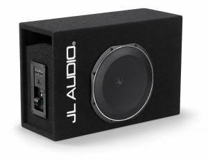 Car Audio - Enclosed Subwoofers - JL Audio - JL Audio ACP112LG-TW1 Single 12TW1 MicroSub+™ with DCD™ Amplifier, Ported, 0.25 ohm
