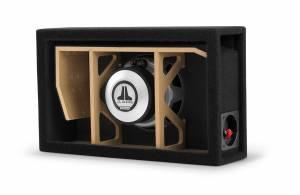 Car Audio - Enclosed Subwoofers - JL Audio - JL Audio CP108LG-W3v3 Single 8W3v3 MicroSub, Ported, 4 ohm