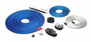 Car Audio - Connection Systems - JL Audio - JL Audio XD-PCS1/0-2B Premium 1/0 AWG 12 V Power Connection Kit, Two Amplifiers