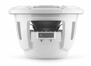 JL Audio M7-12IB-S-GwGw-i-4 12-inch (300 mm) Marine Subwoofer Driver with Transflective™ LED Lighting, Gloss White Trim Ring, Gloss White Sport Grille, 4 ohm