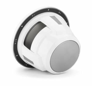 JL Audio - JL Audio M7-12IB-S-GwGw-i-4 12-inch (300 mm) Marine Subwoofer Driver with Transflective™ LED Lighting, Gloss White Trim Ring, Gloss White Sport Grille, 4 ohm - Image 2