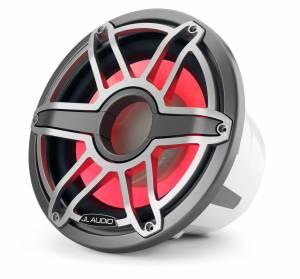 JL Audio - JL Audio M7-12IB-S-GmTi-i-4 12-inch (300 mm) Marine Subwoofer Driver with Transflective™ LED Lighting, Gunmetal Trim Ring, Titanium Sport Grille, 4 ohm - Image 4