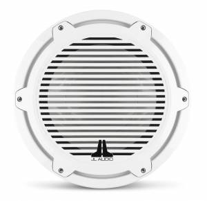 Marine - Subwoofers - JL Audio - JL Audio M7-12IB-C-GwGw-4 12-inch (300 mm) Marine Subwoofer Driver, Gloss White Trim Ring, Gloss White Classic Grille, 4 ohm