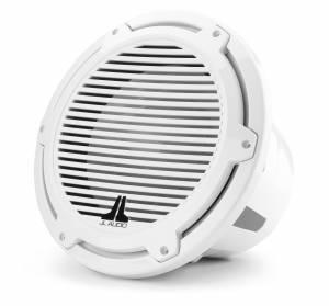 JL Audio - JL Audio M7-12IB-C-GwGw-4 12-inch (300 mm) Marine Subwoofer Driver, Gloss White Trim Ring, Gloss White Classic Grille, 4 ohm - Image 2