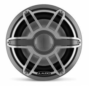 JL Audio - JL Audio M7-12IB-S-GmTi-4 12-inch (300 mm) Marine Subwoofer Driver, Gunmetal Trim Ring, Titanium Sport Grille, 4 ohm - Image 2