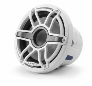 JL Audio - JL Audio M6-8IB-S-GwGw-4 8-inch (200 mm) Marine Subwoofer Driver, Gloss White Trim Ring, Gloss White Sport Grille, 4 ohm - Image 2