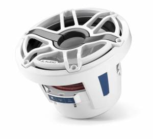JL Audio - JL Audio M6-8IB-S-GwGw-4 8-inch (200 mm) Marine Subwoofer Driver, Gloss White Trim Ring, Gloss White Sport Grille, 4 ohm - Image 4
