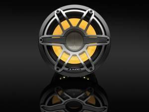 JL Audio - JL Audio M6-10IB-S-GmTi-i-4 10-inch (250 mm) Marine Subwoofer Driver with Transflective™ LED Lighting, Gunmetal Trim Ring, Titanium Sport Grille, 4 ohm - Image 4