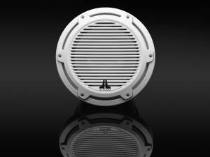 JL Audio - JL Audio M6-10W-C-GwGw-4 10-inch (250 mm) Marine Subwoofer Driver, Gloss White Trim Ring, Gloss White Classic Grille, 4 ohm - Image 3