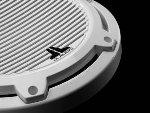 JL Audio - JL Audio M6-10W-C-GwGw-4 10-inch (250 mm) Marine Subwoofer Driver, Gloss White Trim Ring, Gloss White Classic Grille, 4 ohm - Image 4