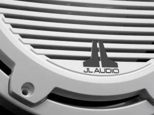 JL Audio - JL Audio M6-10W-C-GwGw-4 10-inch (250 mm) Marine Subwoofer Driver, Gloss White Trim Ring, Gloss White Classic Grille, 4 ohm - Image 5