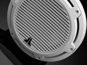 JL Audio - JL Audio M6-10W-C-GwGw-4 10-inch (250 mm) Marine Subwoofer Driver, Gloss White Trim Ring, Gloss White Classic Grille, 4 ohm - Image 6