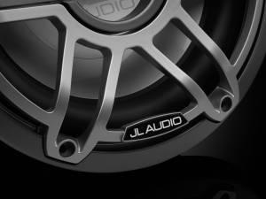 JL Audio - JL Audio M6-10W-S-GmTi-4 10-inch (250 mm) Marine Subwoofer Driver, Gunmetal Trim Ring, Titanium Sport Grille, 4 ohm - Image 3
