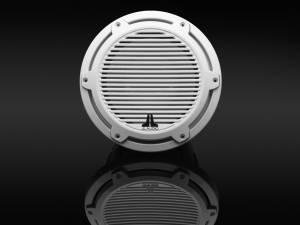 JL Audio - JL Audio M6-10IB-C-GwGw-4 10-inch (250 mm) Marine Subwoofer Driver, Gloss White Trim Ring, Gloss White Classic Grille, 4 ohm - Image 3