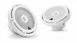 Marine - Speakers - JL Audio - JL Audio M3-770X-C-Gw 7.7-inch (196 mm) Marine Coaxial Speakers, Gloss White Classic Grilles