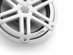 Marine - Speakers - JL Audio - JL Audio M3-770X-S-Gw 7.7-inch (196 mm) Marine Coaxial Speakers, White Sport Grilles