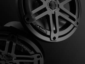 Marine - Speakers - JL Audio - JL Audio M3-770X-S-Gm 7.7-inch (196 mm) Marine Coaxial Speakers, Gunmetal Sport Grilles